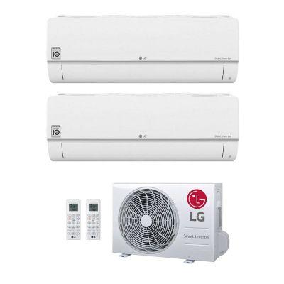 LG Duo-Split Wand Airco 9000+12000