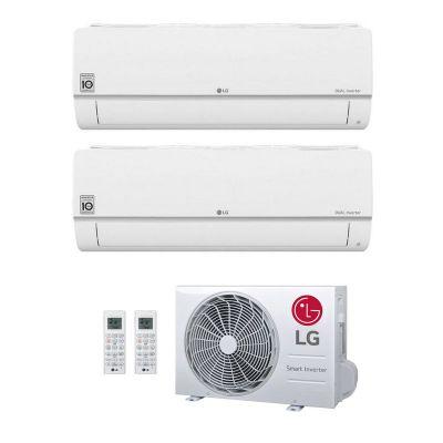 LG Duo-Split Wand Airco 9000+9000