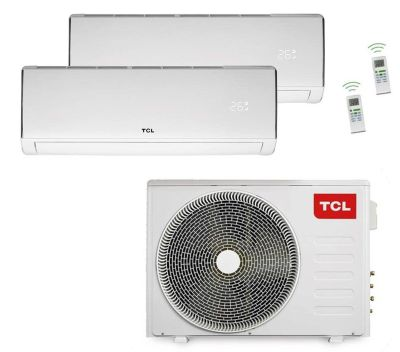 TCL Duo-Split Wand Airco 9000+12000